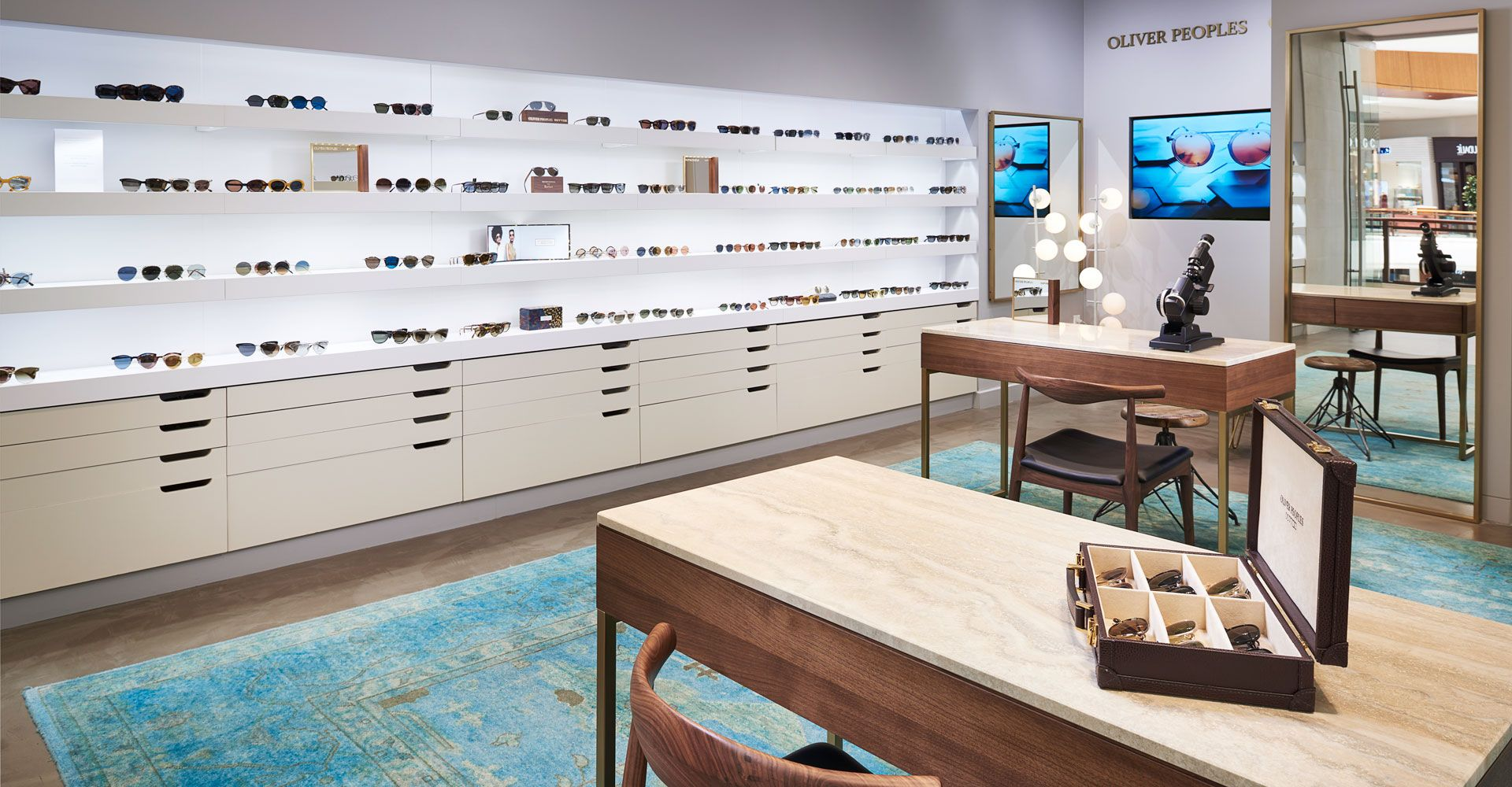 Oliver Peoples Aventura Mall Eyewear Boutique