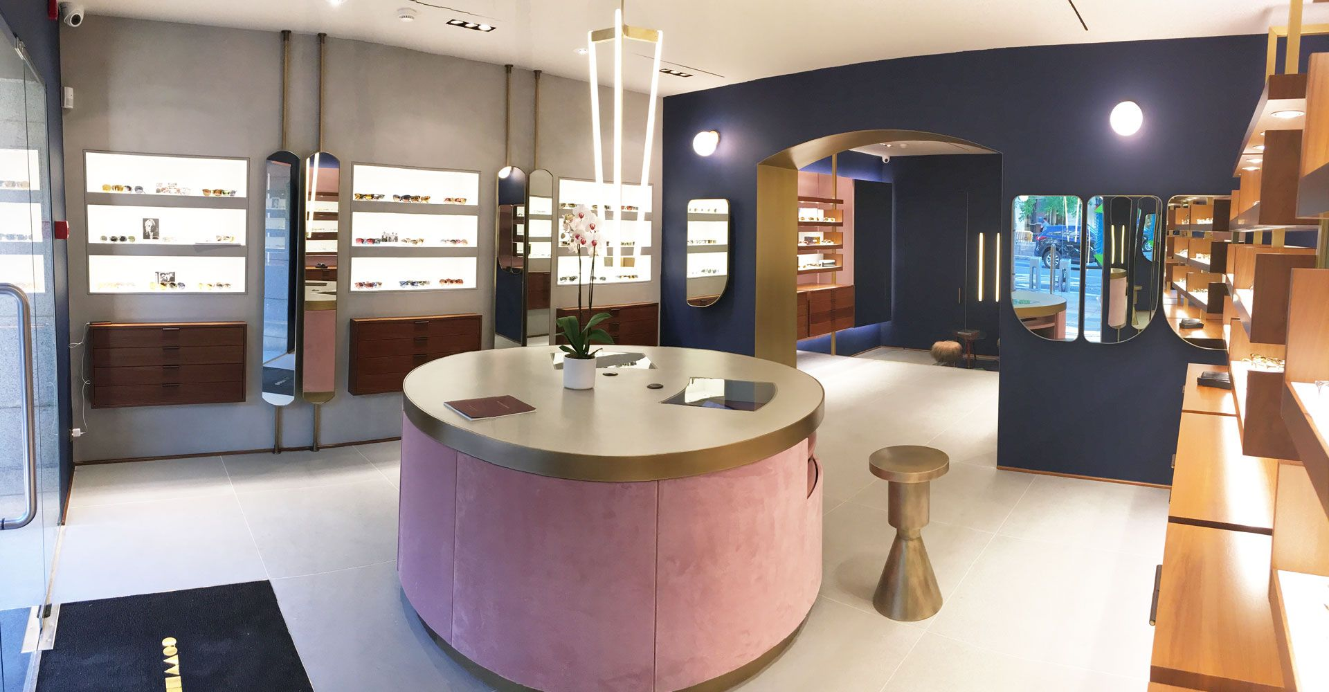 Oliver Peoples Madrid Eyewear Boutique Interior