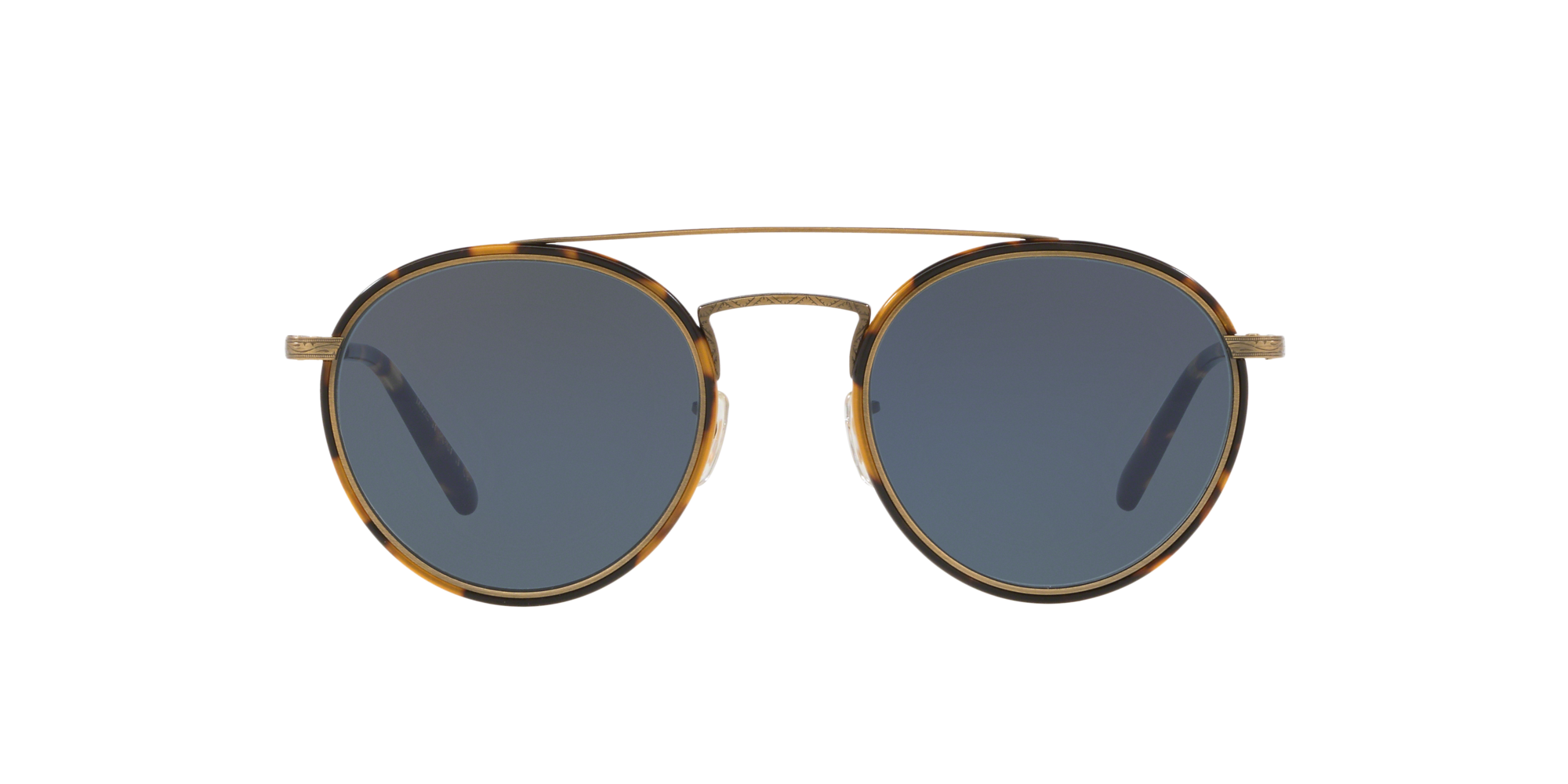 Oliver Peoples Retro Vintage Evey Rose Gold Sunglasses OV 1244S 503787 59mm