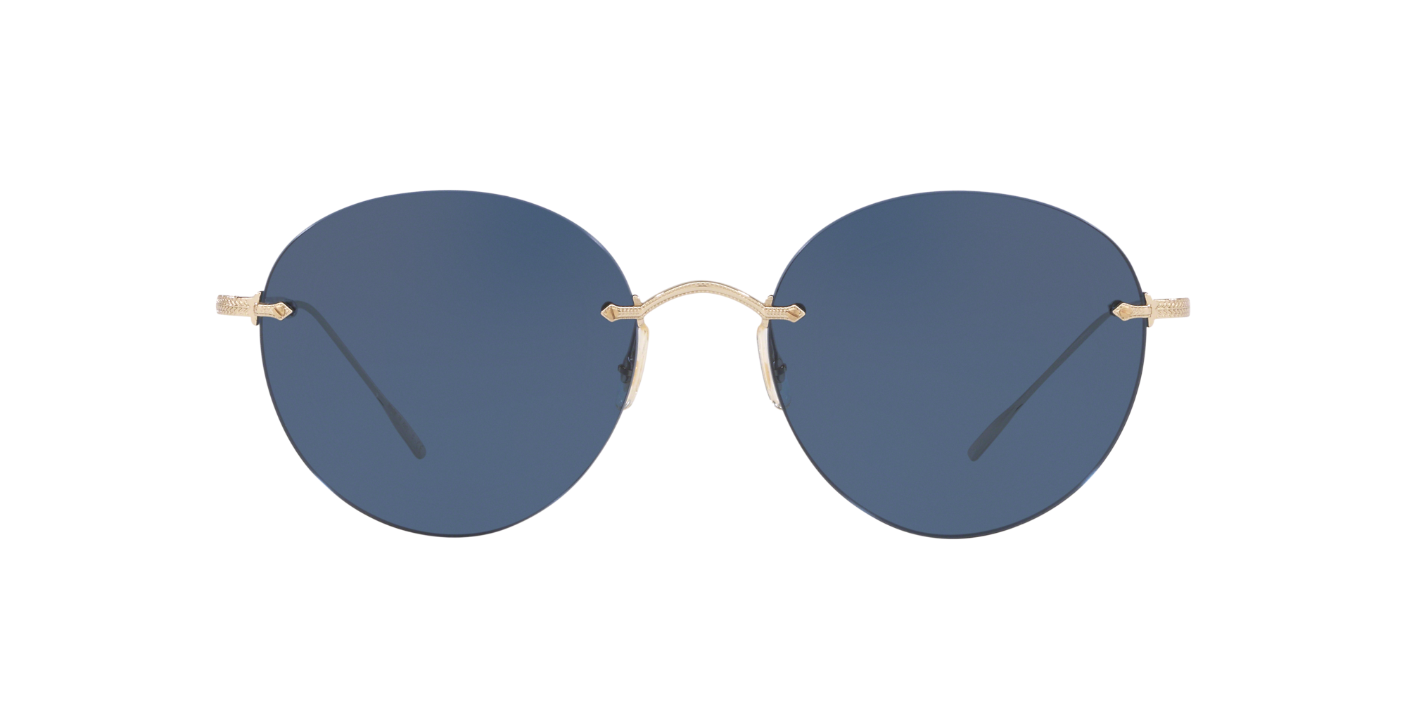 Oliver Peoples Occhiali da Sole COLIENA OV 1264S ANTIQUE GOLD//BROWN BLUE SHADED 57//19//145 donna